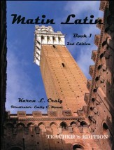 Matin Latin #1 Teacher Text, 2nd Edition