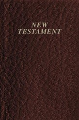 KJV Vest Pocket New Testament, Imitation leather, Burgundy