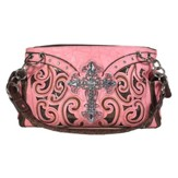 Fashion Cross Purse, Coral