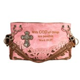 Fashion Cross Purse, Pink