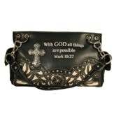 Fashion Cross Purse, Black