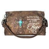 Hope, Fashion Cross Purse, Brown