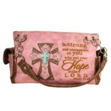 Hope, Fashion Cross Purse, Pink