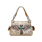 Wing, Fashion Cross Purse, Beige