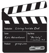 Living Inside Out Epic Adventures Bible Memory Makers, pack of 5