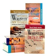 The Complete Word Study Bible and Dictionary Pack,  5 Volumes