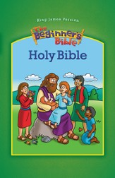 KJV Beginner's Bible, large-print hardcover