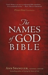 GWT The Names of God Bible, Hardcover