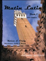 Matin Latin #1 Student Text, 2nd Edition