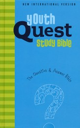 NIV Youth Quest Study Bible: The Question and Answer Bible - Slightly Imperfect