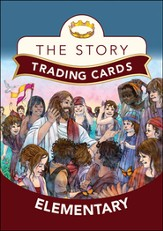 The Story Trading Cards: For Elementary, Grades 3 & Up  - Slightly Imperfect