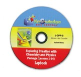 Apologia Exploring Creation with Chemistry and Physics  Lapbook Package Lessons 1-14 PDF CD-ROM