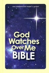 NIrV God Watches Over Me Bible, Glow-in-the-Dark