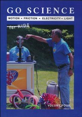 Go Science 2 for Kids DVD, Volume Four: Motion, Friction, Electricity & Light
