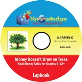 Money Doesn't Grow On Trees: Real Money Talk For Grades 9-12+ Notebook Journal PDF CD-ROM
