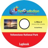 Yellowstone National Park Lapbook PDF CD-ROM