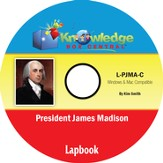 President James Madison Lapbook PDF CD-ROM