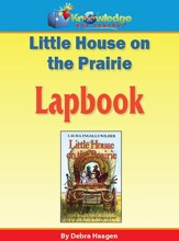 Little House on the Prairie Lapbook (Printed Edition)