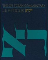 Leviticus: The JPS Torah Commentary