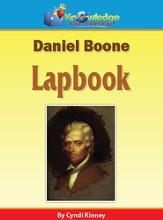 Daniel Boone Lapbook (Printed Edition)