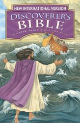 NIV Discoverer's Bible, Large Print, Revised Edition, Hardcover