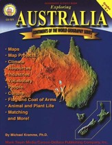 Continents of the World Geography Series: Exploring Australia, Grades 4-8+