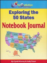 Exploring the 50 States Notebook Journal (Printed Edition)