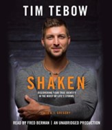 Shaken: Discovering Your True Identity in the Midst of Life's Storms unabridged audiobook on CD