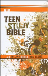 NIV Teen Study Bible, Hardcover  - Slightly Imperfect