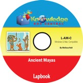 Ancient Mayas Lapbook PDF CD-ROM