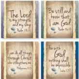 Have Faith Coasters, Set of 4