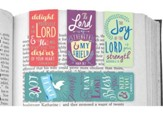Delight In the Lord, Magnetic Bookmarks, Set of 4