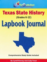 Texas State History Lapbook Kit