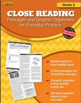 Close Reading Practice Book, Grade 2