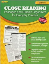Close Reading Practice Book, Grade 3
