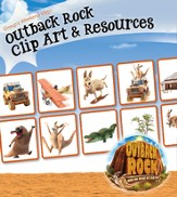 Outback Rock VBS 2015: Clip Art & Resources CD