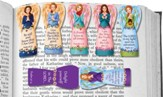Magnetic Angel Bookmarks, Pack of 6
