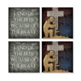 Soldier Coasters, Set of 4