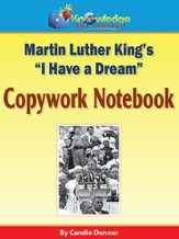 Martin Luther King Jr. Copywork Notebook (Printed Edition)
