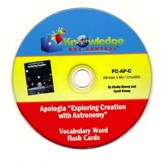Exploring Creation with Astronomy Vocabulary Flash Cards PDF CD-ROM