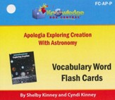 Exploring Creation with Astronomy Vocabulary Flash Cards (Printed Edition)