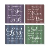 Faith Coasters, Set of 4