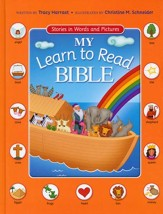 My Learn to Read Bible: Stories in Words and Pictures - Slightly Imperfect