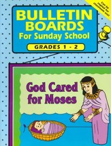 Bulletin Boards for Sunday School, Grades 1-2
