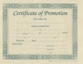 Certificate of Promotion (pkg. of 6)