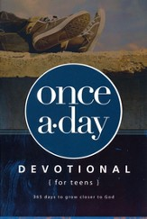 NIV Once-A-Day Devotional for Teens  - Slightly Imperfect