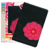NIV Teen Study Bible, Imitation Leather, Flower - Imperfectly Imprinted Bibles