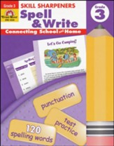 Skill Sharpener: Spell & Write,  Grade 3