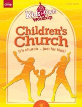 KidsOwn Worship Leader Guide, Summer 2016