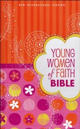 NIV Young Women of Faith Bible, Hardcover, Printed Caseside